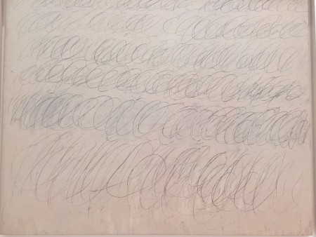 tableau Cy Twombly